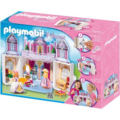 5419-PLAYMOBIL---CASTELO-DA-PRINCESA-GAME-BOX