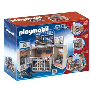 5421-PLAYMOBIL---ESTACAO-DE-POLICIA-GAME-BOX