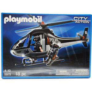 5975-PLAYMOBIL---HELICOPTERO-DE-POLICIA