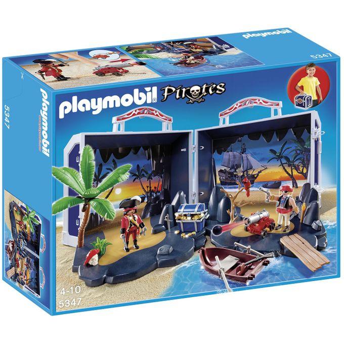 5347-PLAYMOBIL---BAU-DO-TESOURO-DOS-PIRATAS