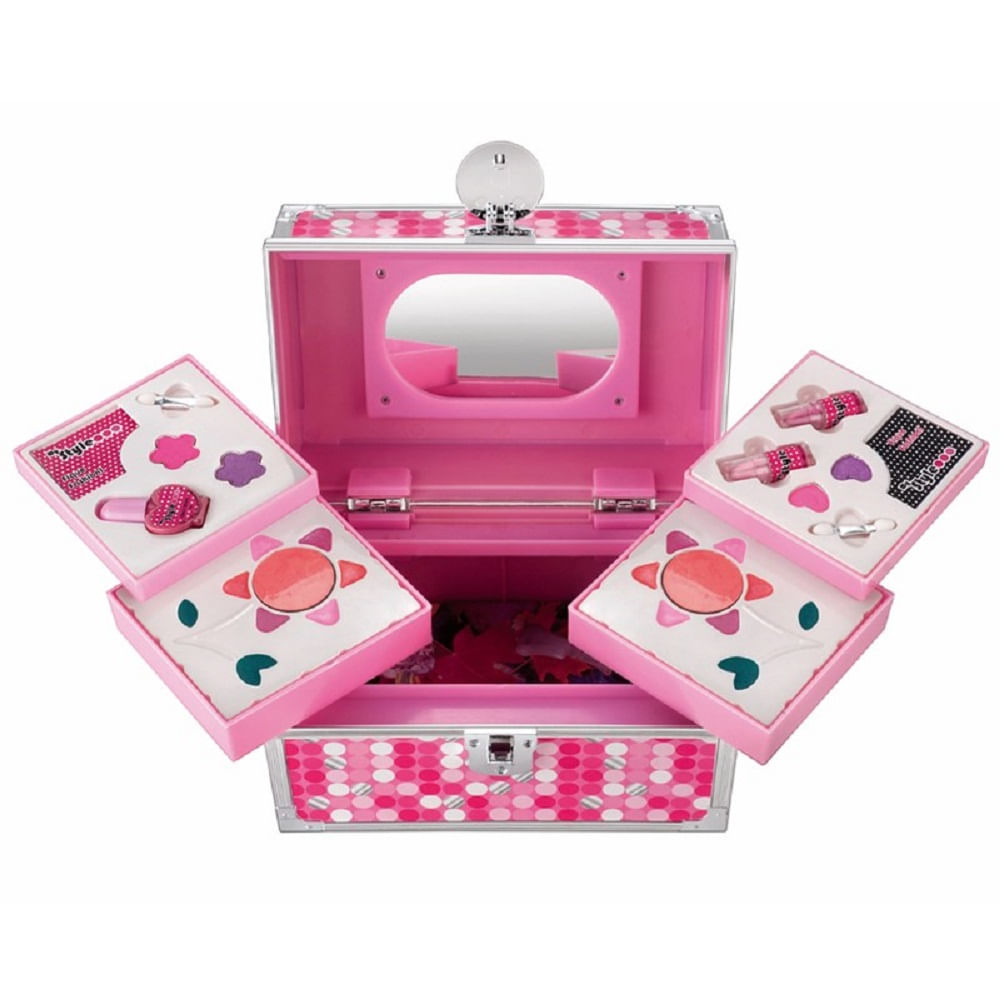 My style super studio maleta de maquiagem mp brinquedos for Super studio