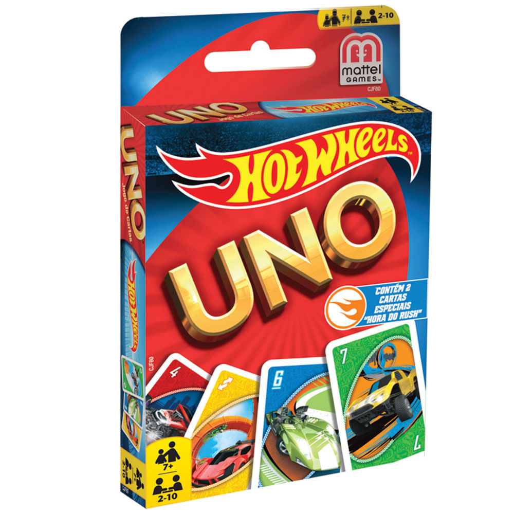 how to play uno hot wheels cards