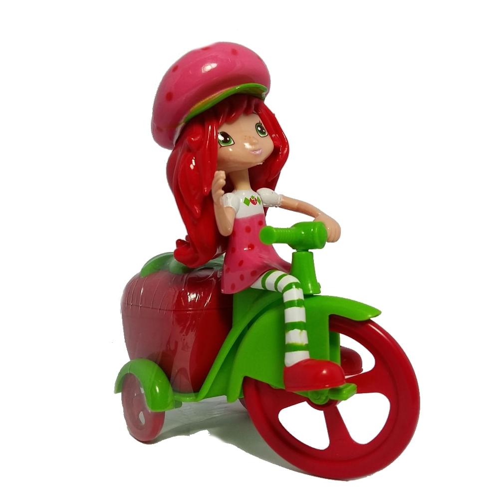 balas bike morango moranguinho dtc   mp brinquedos