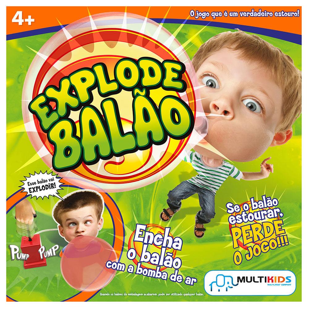 Jogo Explode Balão - Bubble Gum Game - Multikids