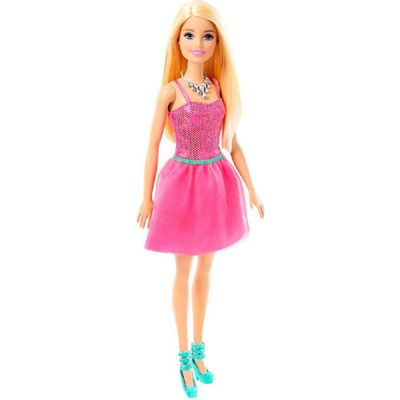 Boneca-Barbie-Fashion-And-Beauty---Glitter---Loira-Vestido-Rosa