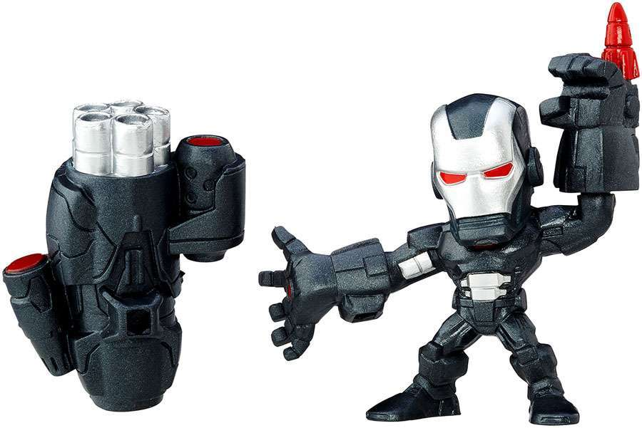 Boneco Marvel Super Hero Mashers Micro - Marvel ´ s War Machine - Série 3