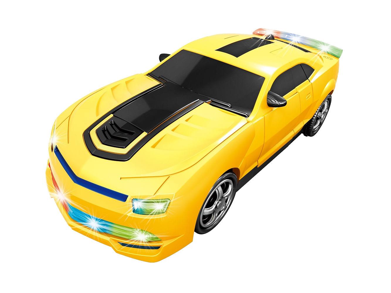 carro robô amarelo coloria r 39 90 em mercado livre