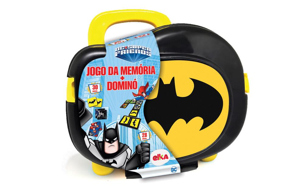 Jogo da Memória + Dominó - Batman - Elka