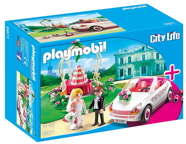 6871 Playmobil - Casamento com Noivos, Bolo e Carro