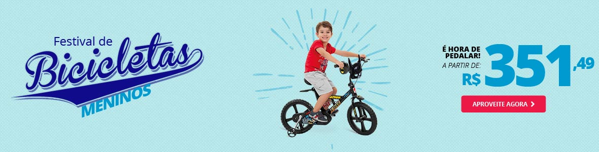 Bicicletas Meninos