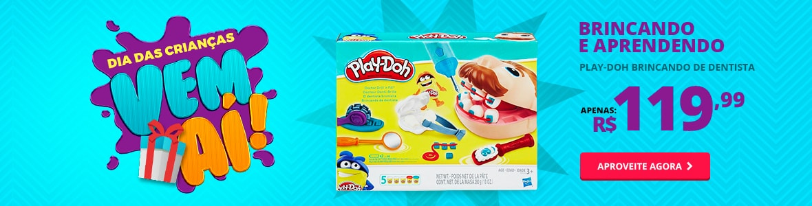 Brincando e aprendendo - Play - Doh Dentista