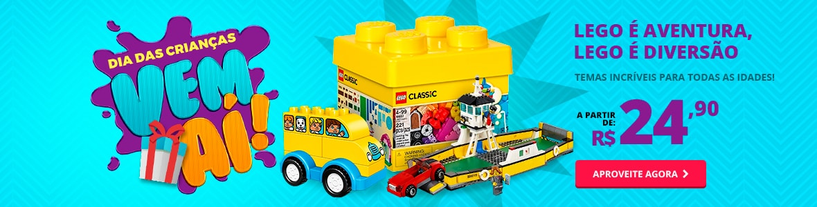 Lego é aventura, Lego é diversão