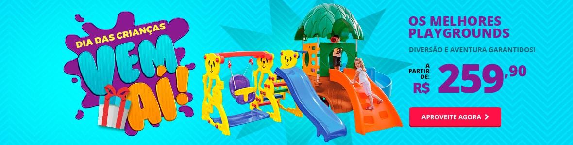 Os melhores playgrounds