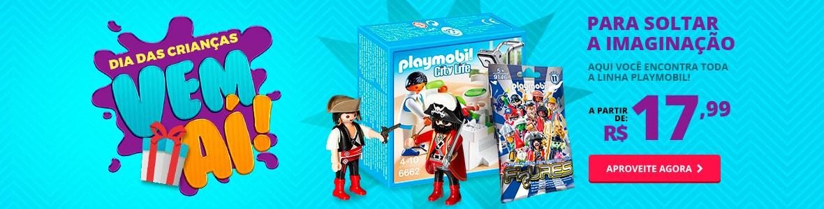 Para soltar a imaginação - Playmobil