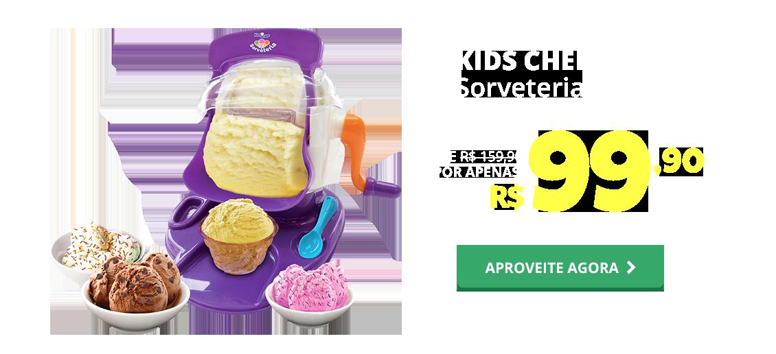 NATAL - KIDS CHEF SORVETERIA