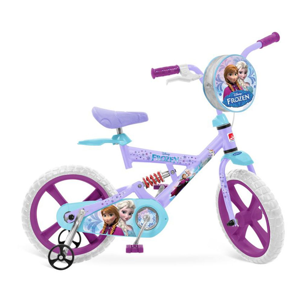 52146c331 Bicicleta Aro 14 X-Bike - Frozen Disney - MP Brinquedos