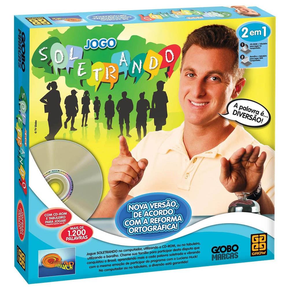 52c85de0ede Jogo Soletrando Cd-Rom 2 Em 1 - Nova Ortografia - MP Brinquedos