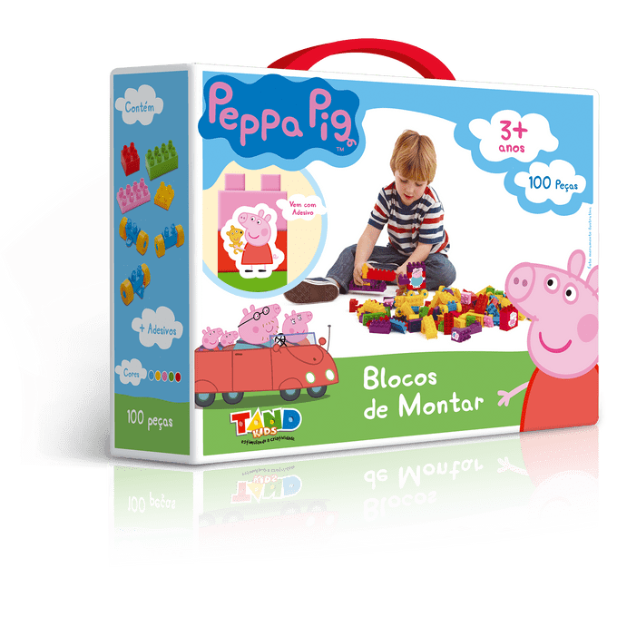 BLOCOS-DE-MONTAR-PEPPA-PIG---MALETA-TAND-KIDS-100-PECAS