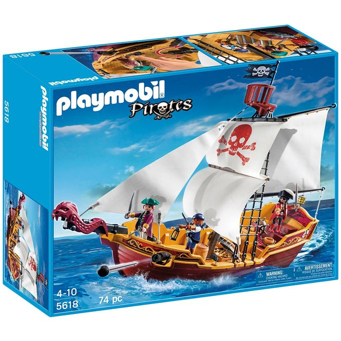5618-PLAYMOBIL---NAVIO-PIRATA