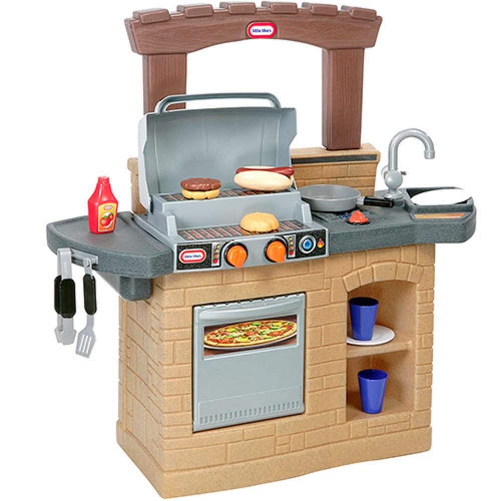 Cozinha Infantil Churrasqueira Little Tikes Mp Brinquedos Loja