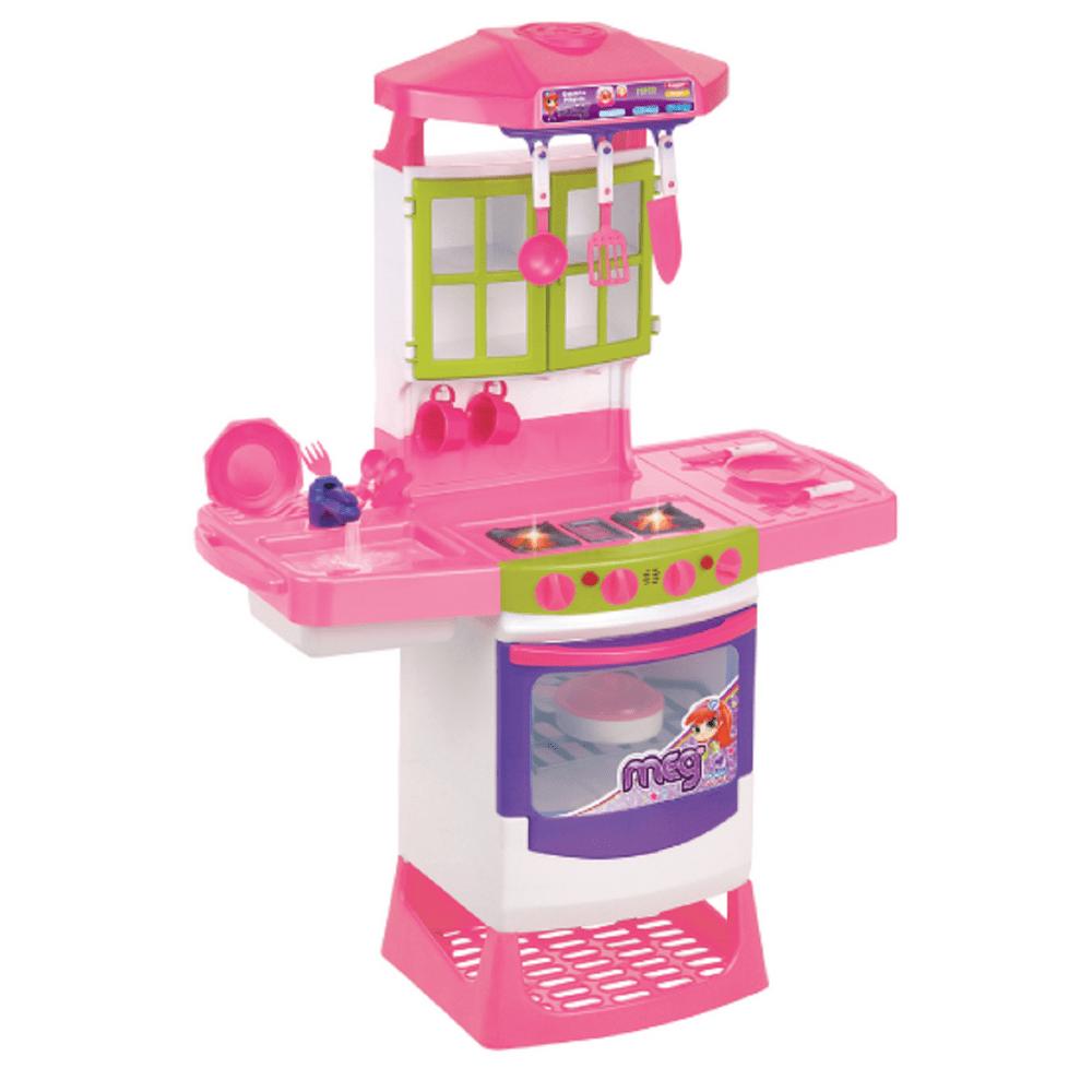Cozinha Infantil M Gica Eletr Nica Super Mp Brinquedos Loja De