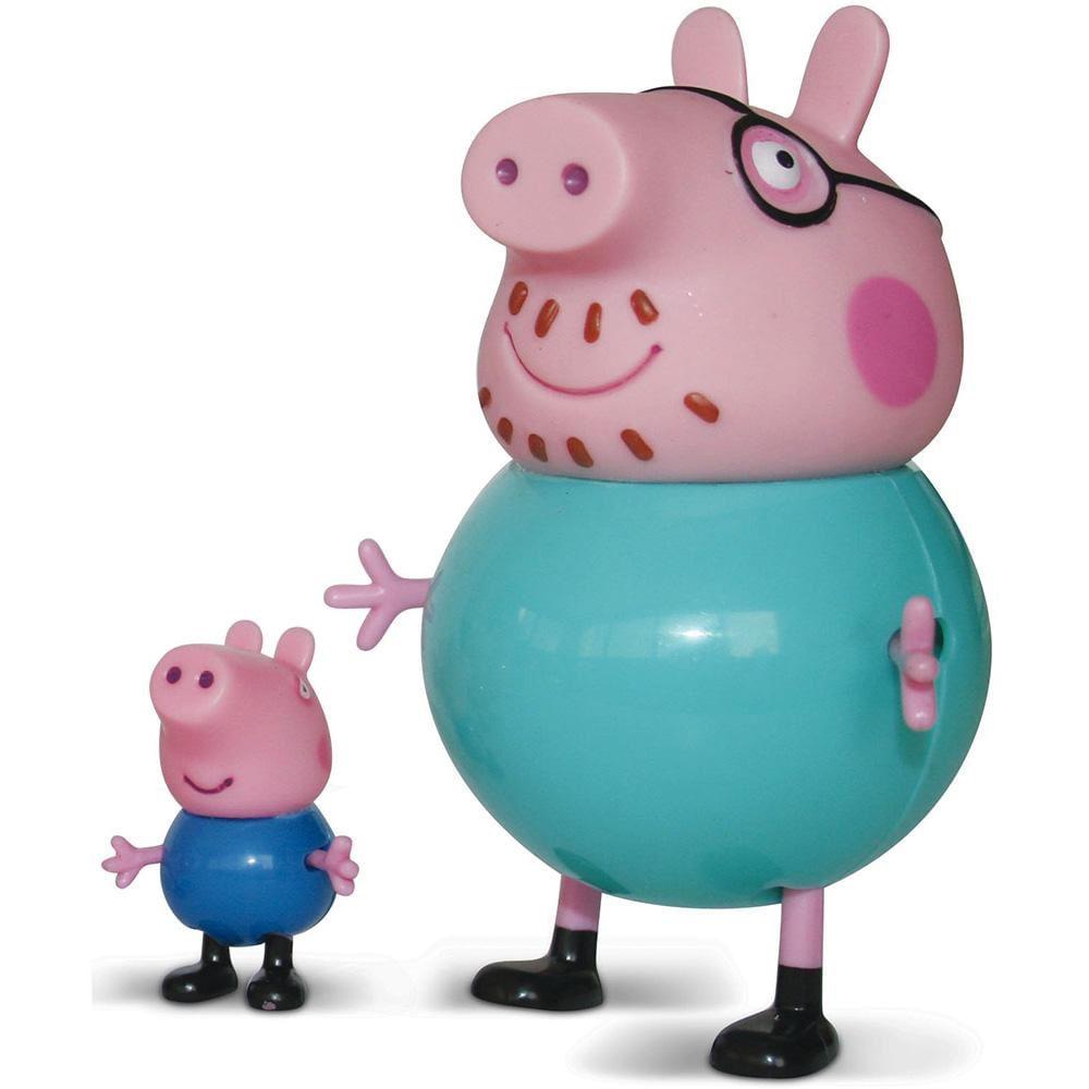 Pantufa Família Peppa Pig Frete Grátis