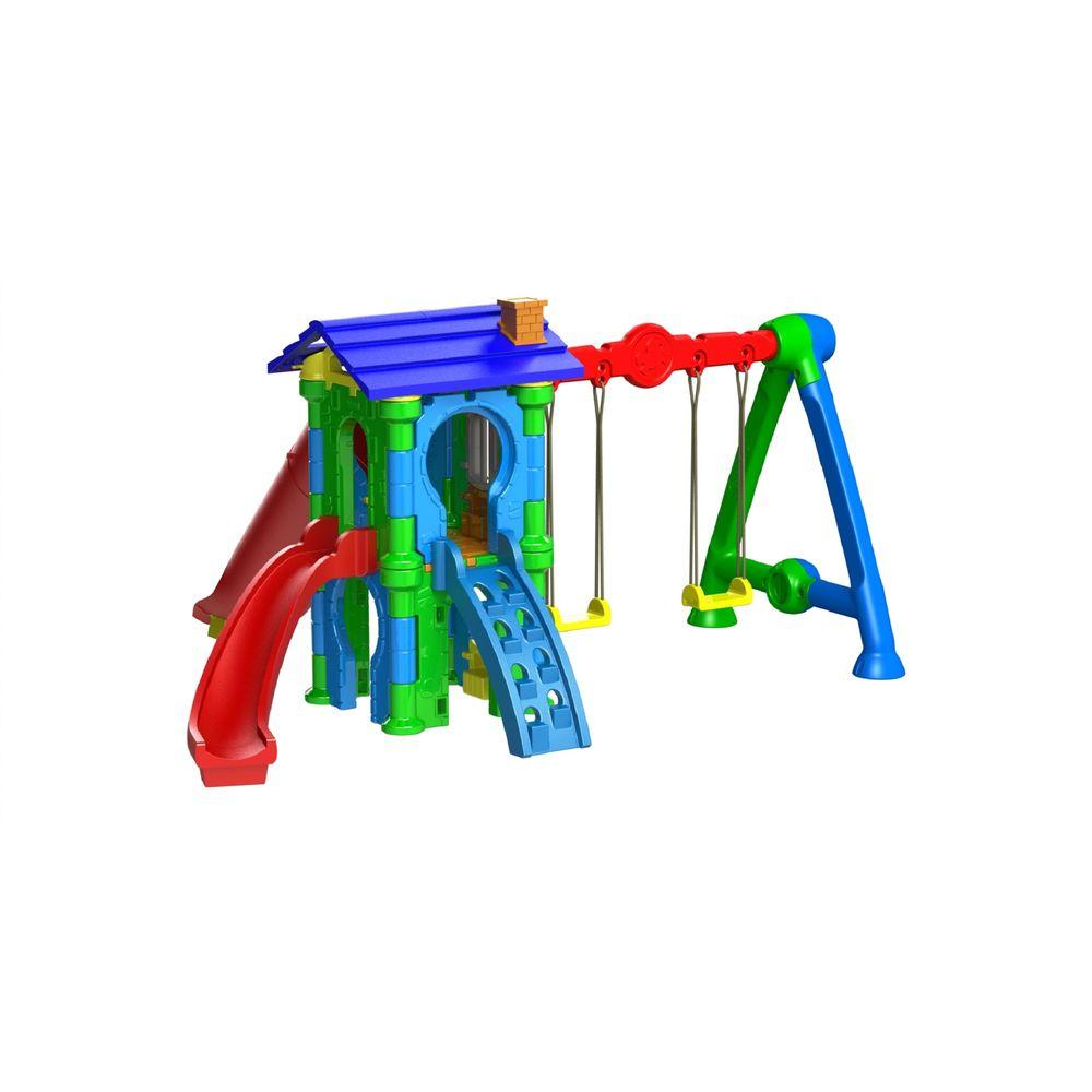 13e399b2fb6 Playground Torre do Castelo com Balanço Freso - MP Brinquedos