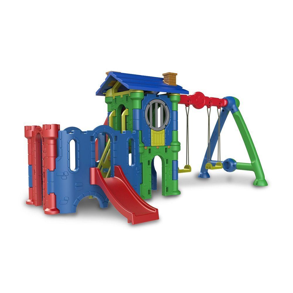 dba1575a72b Playground Torre do Castelo com Castelo Petit e Balanço Freso - MP ...