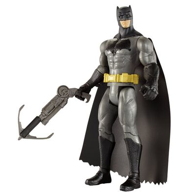 ba29596da77f1 0 OFF batman superman super lancador 1. Batman Vs Superman - Boneco Batman  Super Lançador 15cm Djg30. Esgotado