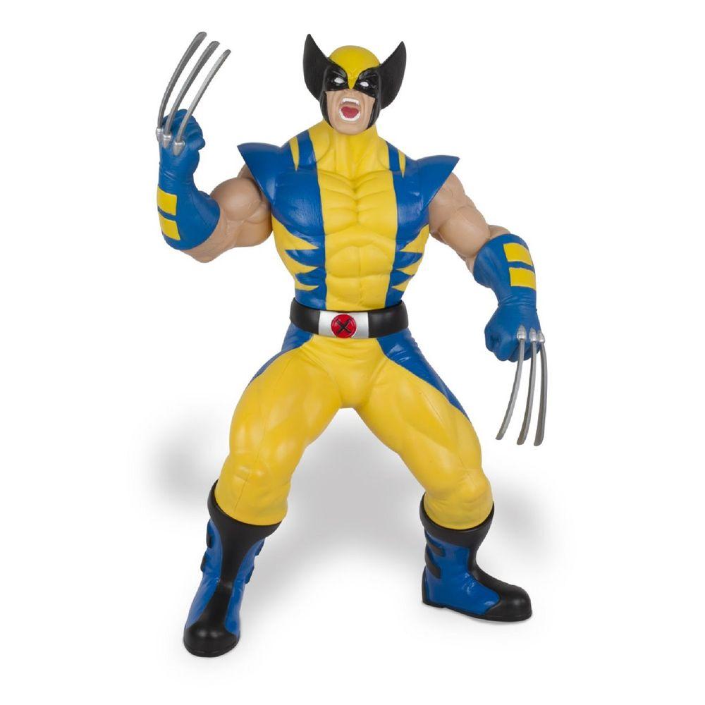 Boneco Wolverine Gigante Premium - Amarelo - MP Brinquedos 8b6543784ac