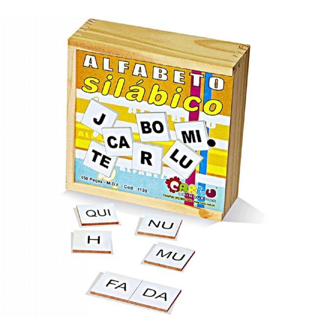 Alfabeto Silábico Madeira - Carlu - CARLU