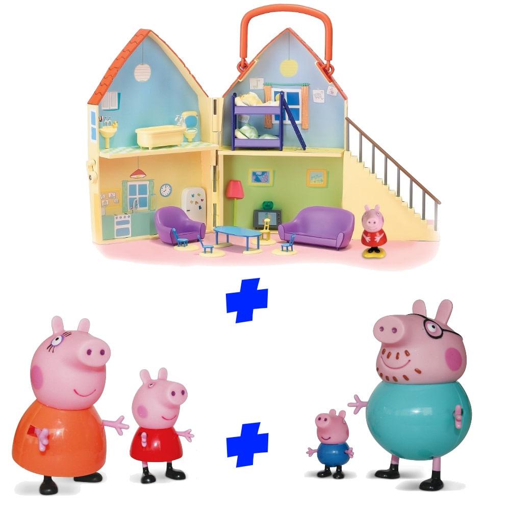 Kit-Casa-da-Peppa-Pig-e-Famila