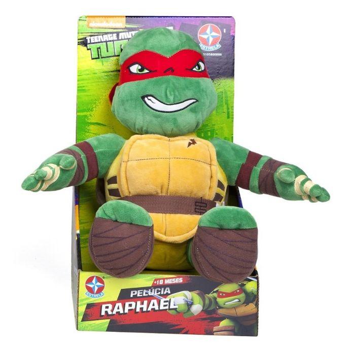 Boneco-Pelucia-Tartarugas-Ninja---Rafael---Estrela