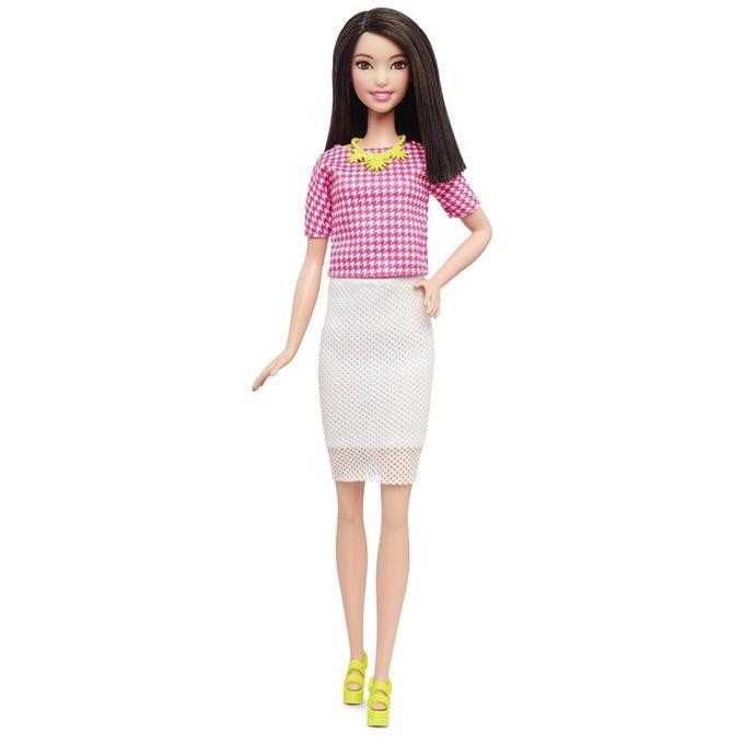 barbie_fashionistas_vestido_rosa_branco_morena_1