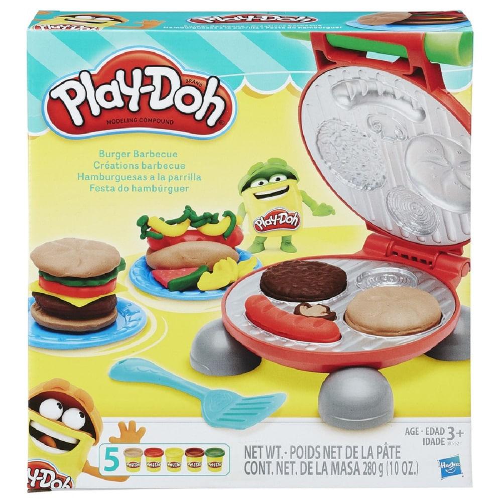 f58607ac5d Massinha Play-Doh - Festa do Hamburguer - MP Brinquedos