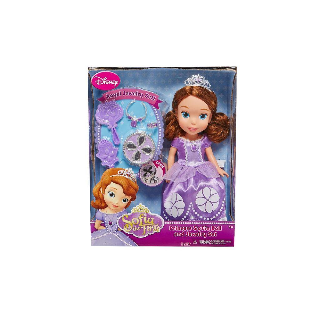 7d642548bb Boneca Princesa Sofia Disney com Acessórios - Minha Primeira ...