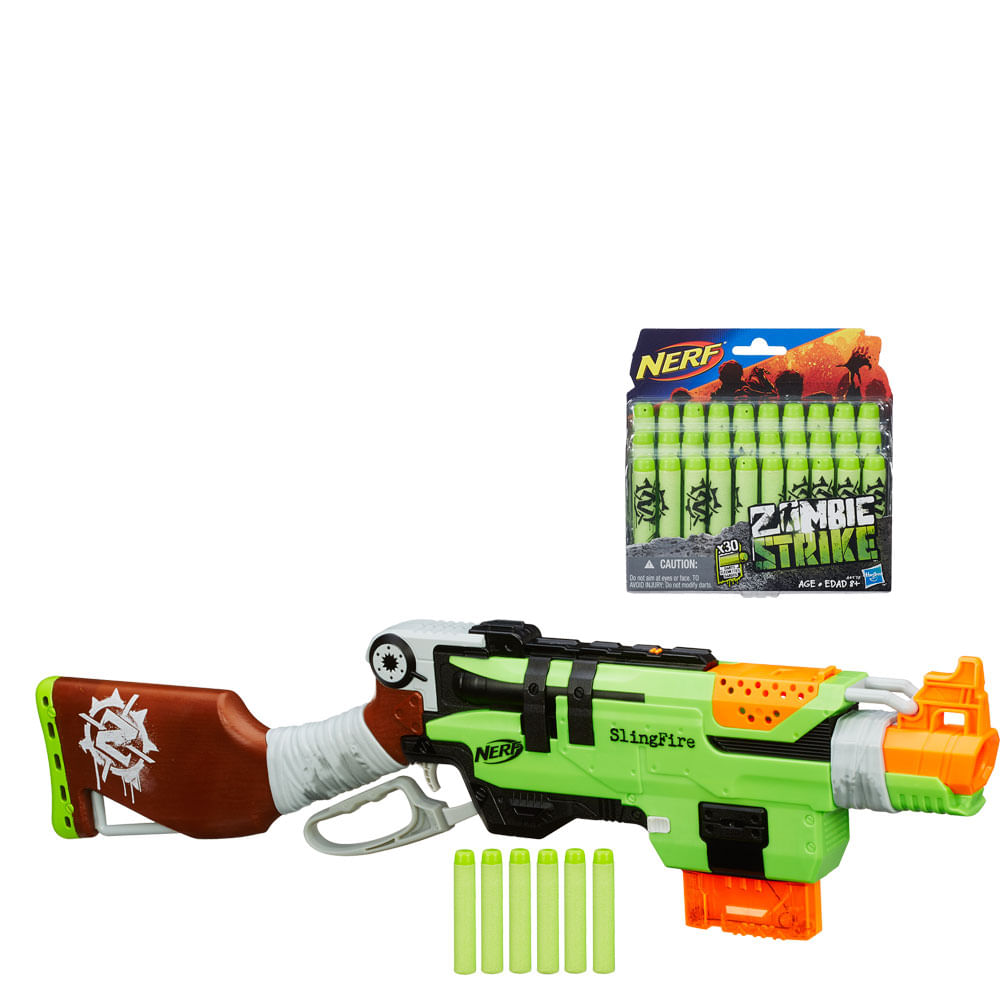 Nerf Zombie Strike Slingfire Blaster TV Commercial, 'Conquer the Zombies' -  iSpot.tv