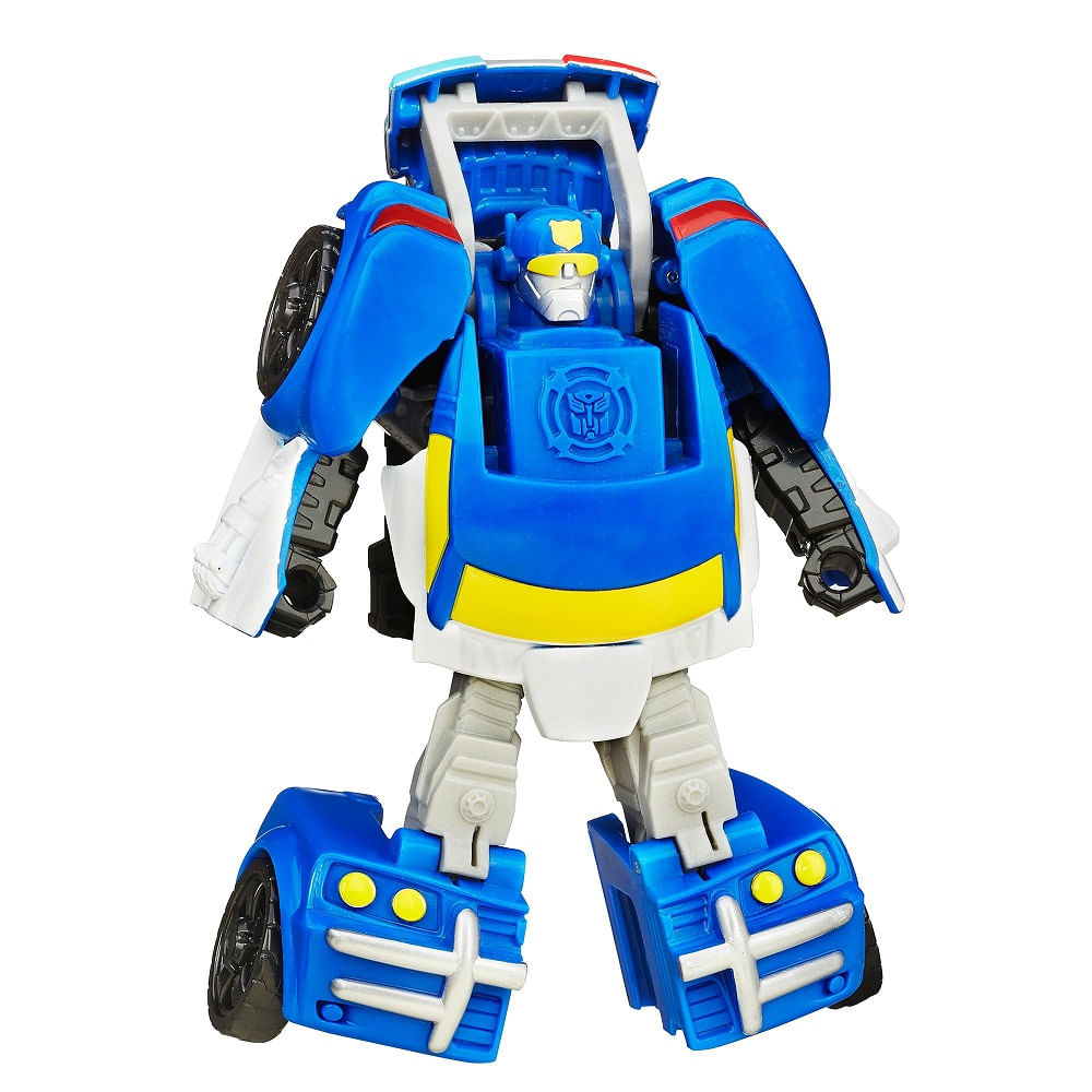 Playskool Heroes Transformers Rob 244 Rescue Bots Chase