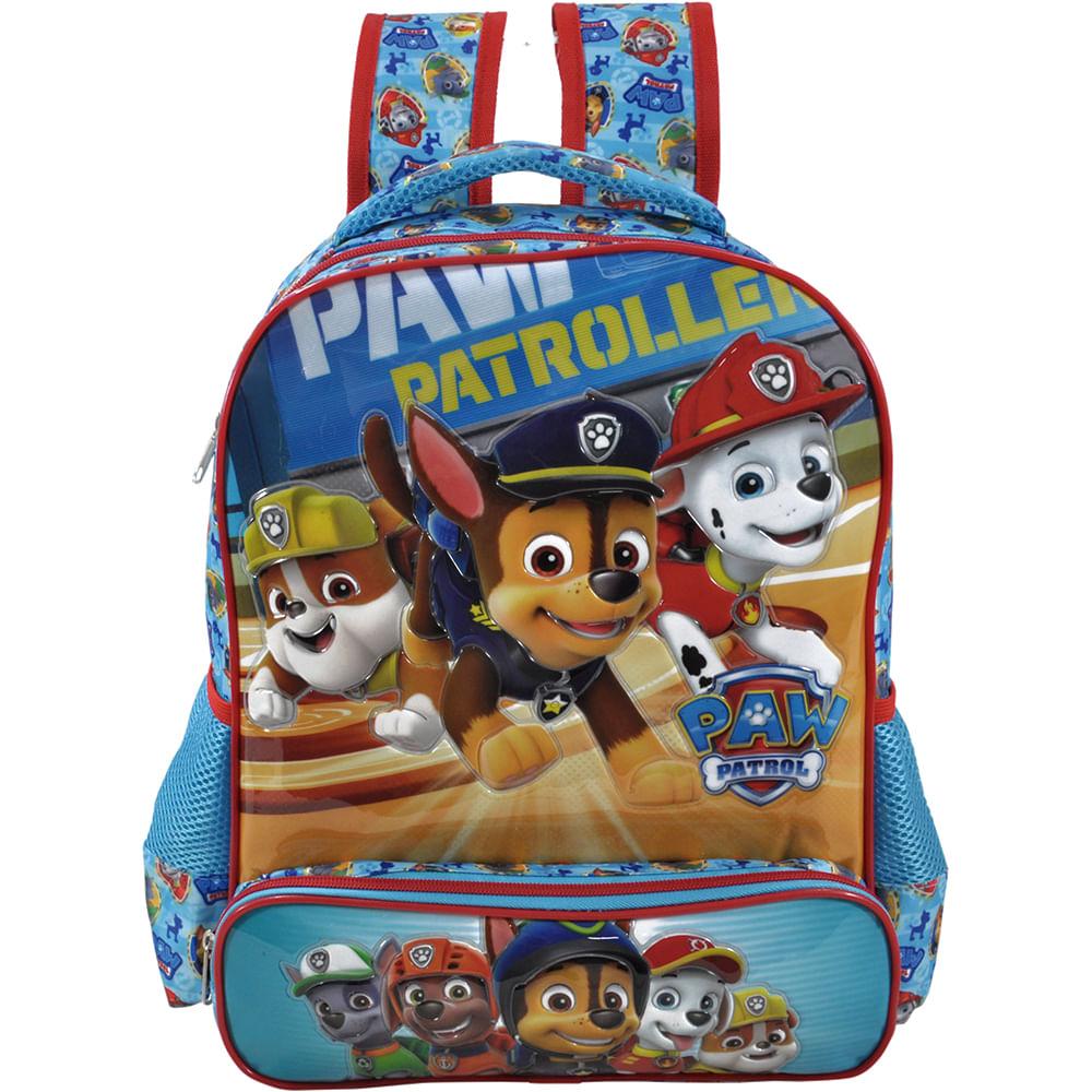 MP Brinquedos · Escolar · Mochilas · mochila-patrulha-canina-6423-conteudo 2646fa78b8e4c