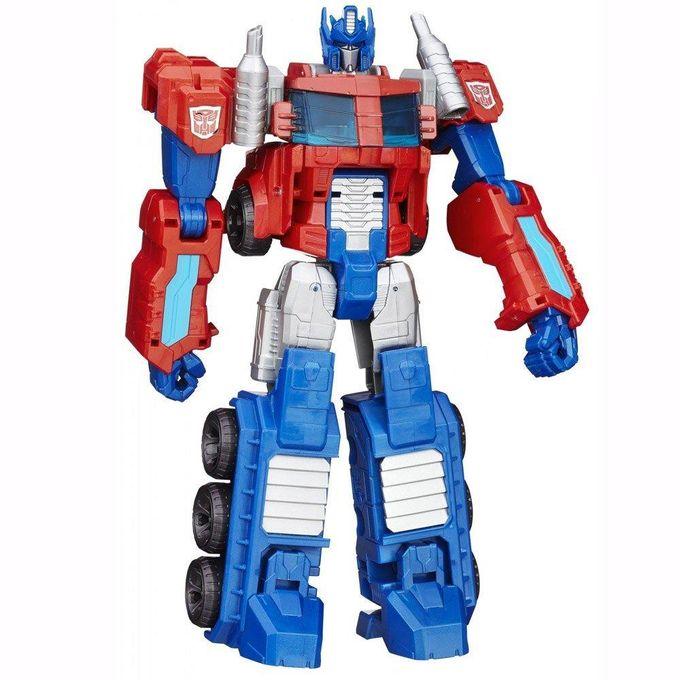 transformers-cyber-28cm-optimus-prime-conteudo