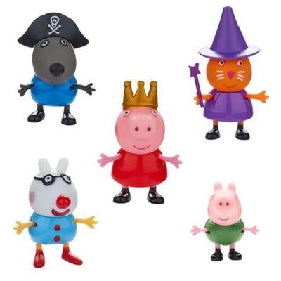 Peppa Pig - Conjunto com 5 Bonecos - Dtc R$ 74,90 ou 3X de R$ 24,96 s/juros  comprar