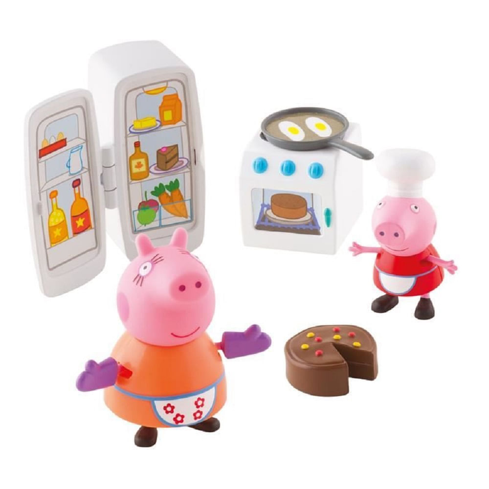 Peppa Pig Hora De Comer Cozinha Dtc Mp Brinquedos Loja De