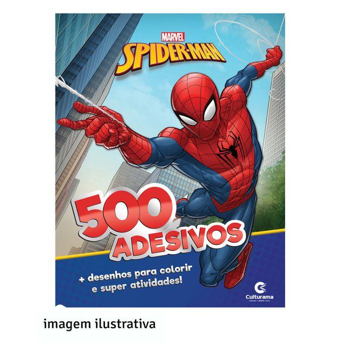 livro-500-adesivos-homem-aranha-conteudo