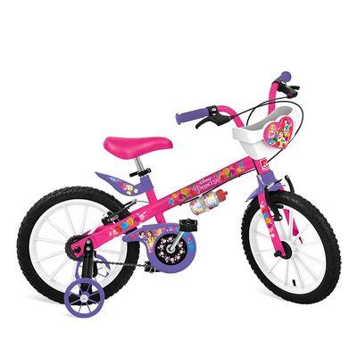 bicicleta aro 16 princesas conteudo