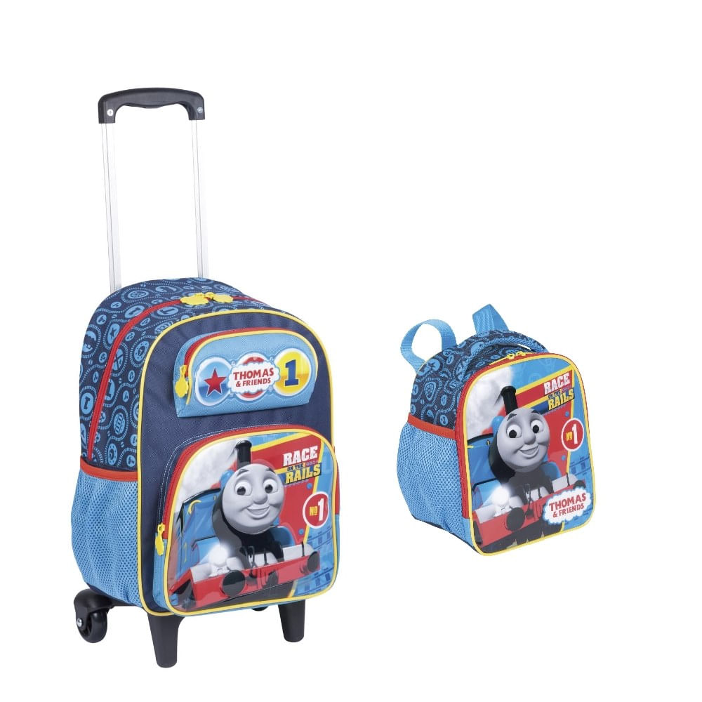 5946f0a46 MP Brinquedos · Escolar · Mochilas. kit-mochila-lancheira-thomas-conteudo