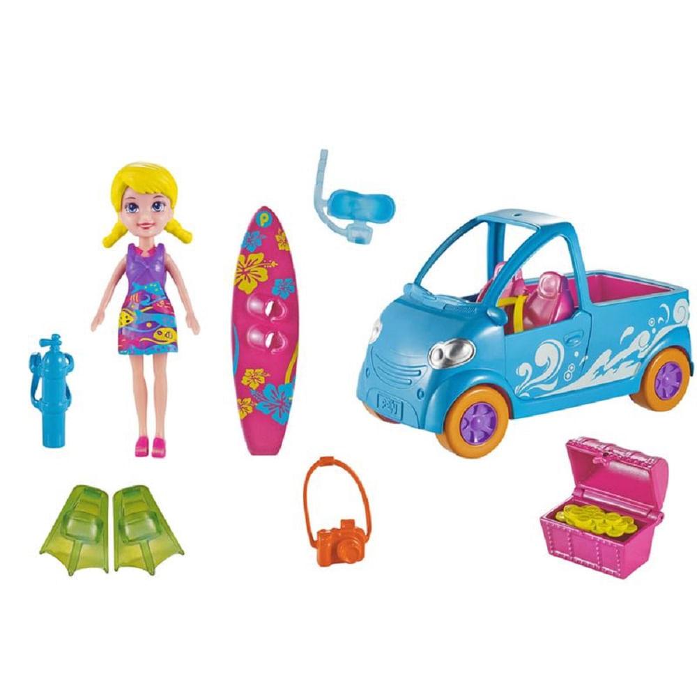Polly - Veículos - Van de Surf Dwc62 - MP Brinquedos 381f3d11450