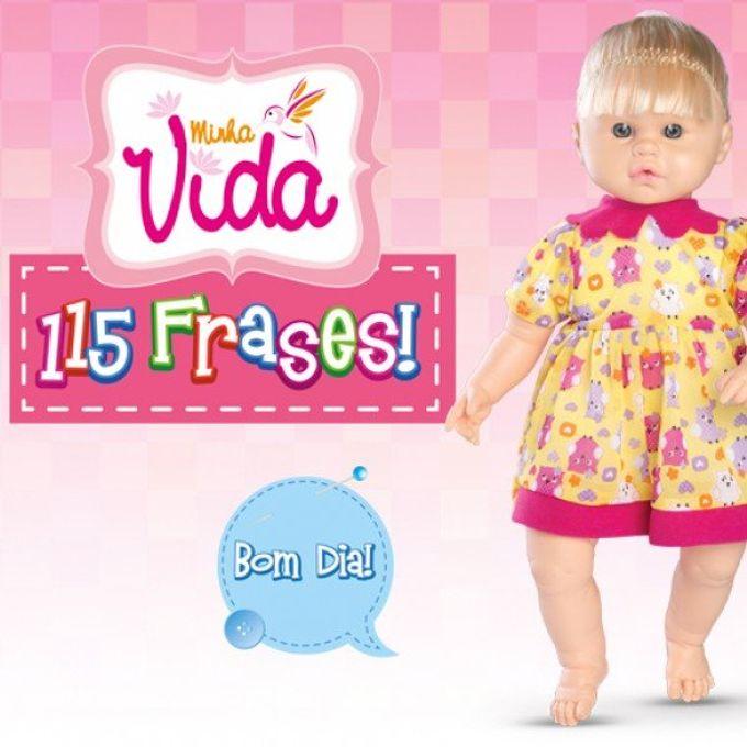 Boneca Minha Vida 115 Frases Omg Mp Brinquedos
