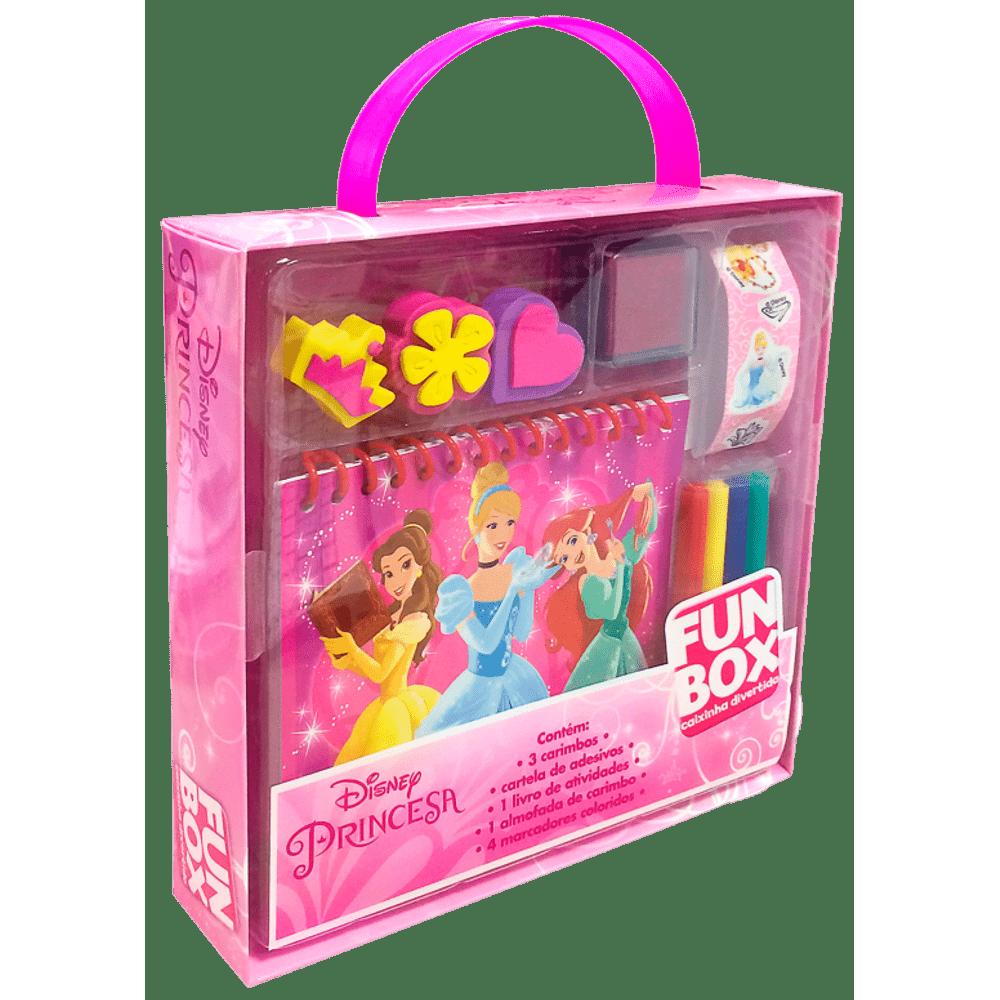 50ef1fbd14 Livro Disney Fun Box Caixinha Divertida - Princesas - MP Brinquedos