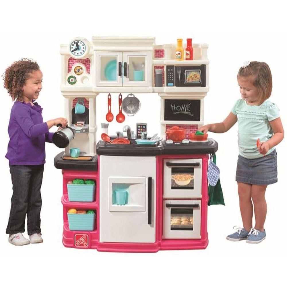 Cozinha Infantil Gourmet Rosa Step2 Mp Brinquedos Loja De