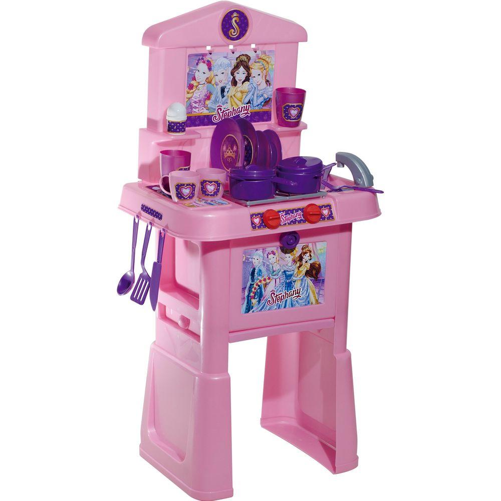 Cozinha Stephany Sonhos De Princesas Rosita Mp Brinquedos